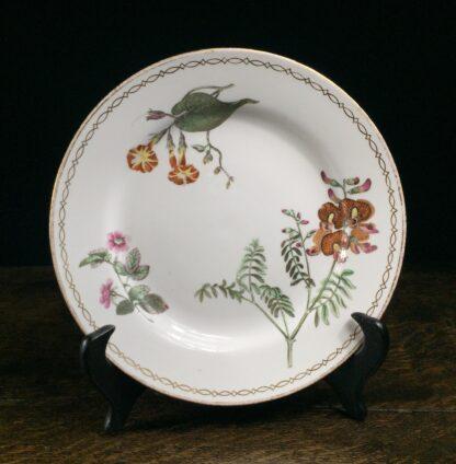 Wedgwood bone china plate, botanical specimens, C.1815 -0