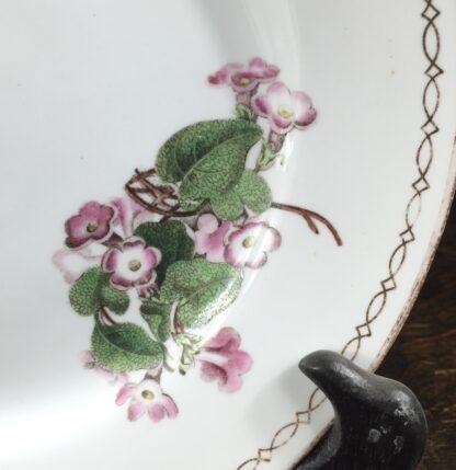 Wedgwood bone china plate, pattern 492, C. 1815-12885