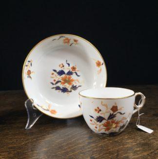 Wedgwood bone china Cup & Saucer, C. 1812-22.-0