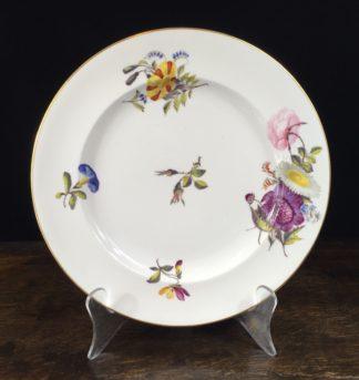 Stevenson & Hancock Derby plate, C. 1880 -0