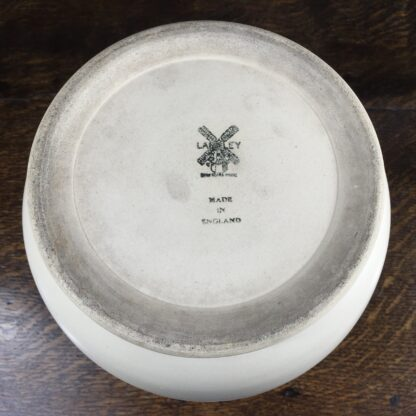 Modernist pottery vase by Langley, circa 1935-13586