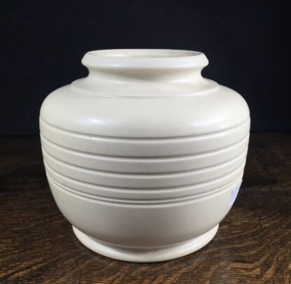 Modernist pottery vase by Langley, circa 1935-0