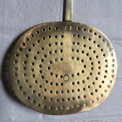 Victorian brass skimmer, 19th century -14388