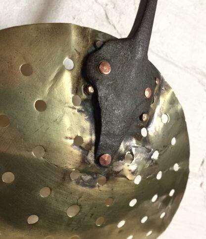 Victorian brass skimmer, 19th century -14392