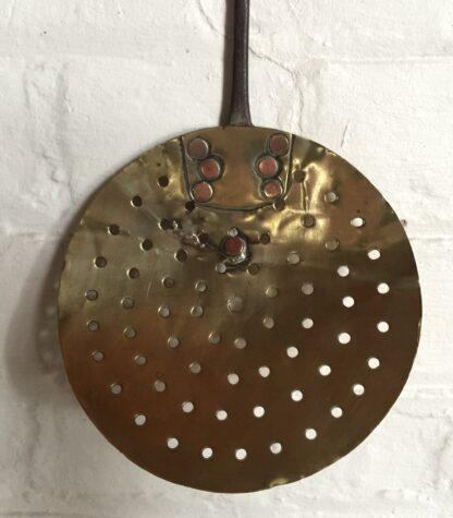 Victorian brass skimmer, 19th century -14393