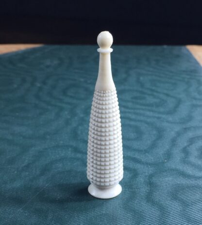 Ivory scent, unusual 'corncob' shape, c. 1900-0