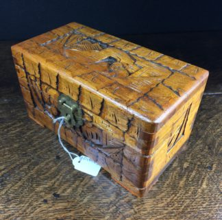 Small Chinese camphor box with lock-0