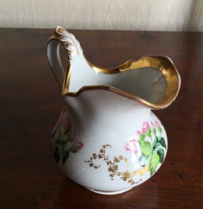 Bohemian porcelain Tea Set, Flowers & Gold, circa 1885-14129