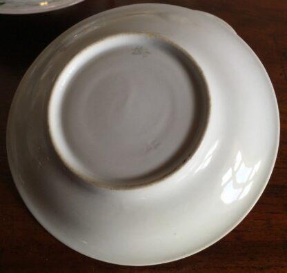 Bohemian porcelain Tea Set, Flowers & Gold, circa 1885-14138