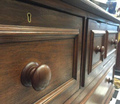 Large Australian cedar shop counter, c. 1870 -14163