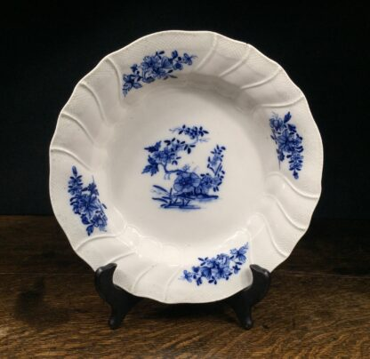 Tournai plate, Oriental Garden, C. 1780 -0