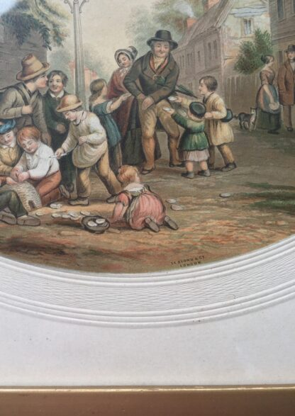 """Le Blond Print """"Please Remember The Grotto"""" 1858-1894 -14609"""