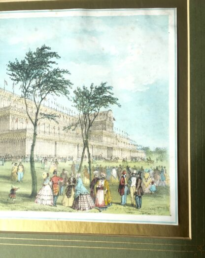 Coloured print of the Crystal Palace London for the Great Exhibition 1851 -14640