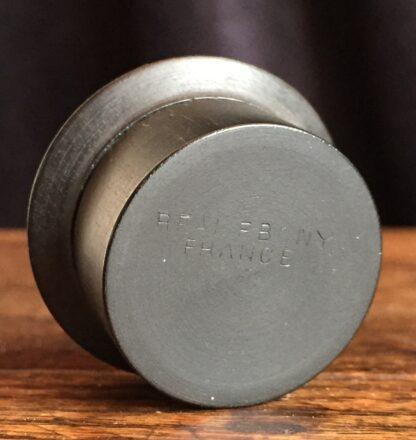 Ebony pill box, French c. 1900-14998
