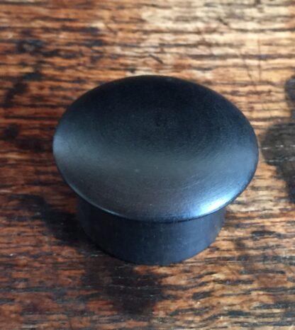 Ebony pill box, French c. 1900-14999