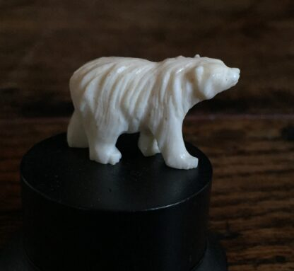 Ivory bear miniature, Japanese c.1900-0
