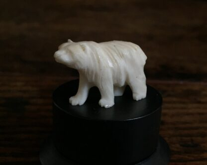 Ivory bear miniature, Japanese c.1900-15040