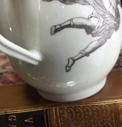 "Worcester bell shape mug, ""King of Prussia"" print, c. 1757-15517"