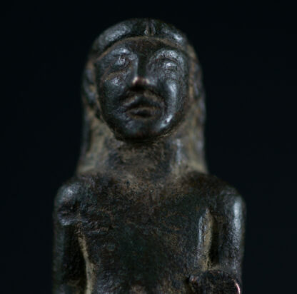 Archaic Greek bronze Kouros figure, c.525 BC-16066