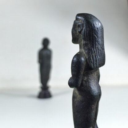 Archaic Greek bronze Kouros figure, c.525 BC-16068