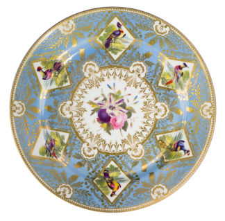 Chamberlains Worcester 'Princess Charlotte Service' type plate, circa 1816-17 -0