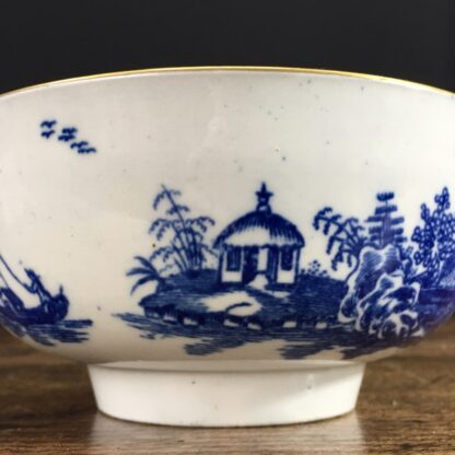 Worcester small punch bowl, 'Argument' pattern, c. 1780-23561