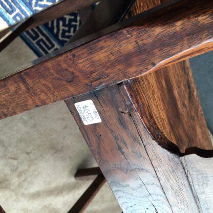 Country Hepplewhite oak chair, c.1800-24835
