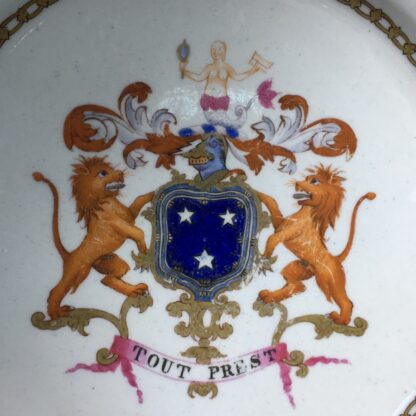 Armorial plate, arms of Murray, probably Spode c. 1800 -22290