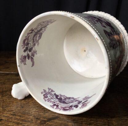 Royal Commemorative mug - William IV & Adelaide - by Goodwin Bridgewood & Harris, c.1830-24768