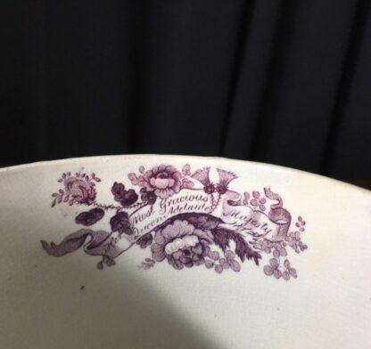 Royal Commemorative mug - William IV & Adelaide - by Goodwin Bridgewood & Harris, c.1830-24771