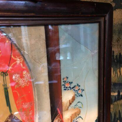 Chinese glass painting, youthful beauty, 19th century-28669