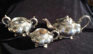 Old Sheffield Plate tea service, C. 1835-0