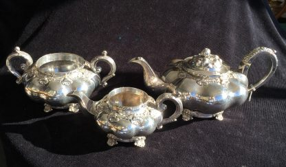 Old Sheffield Plate tea service, C. 1835-0