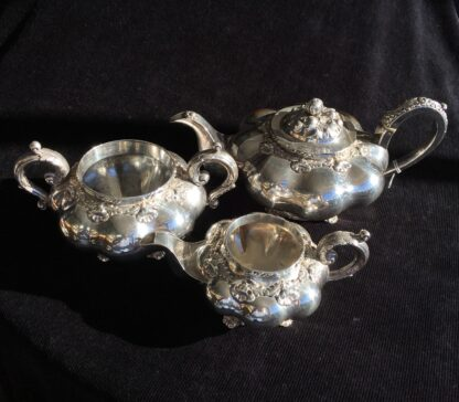 Old Sheffield Plate tea service, C. 1835-17092