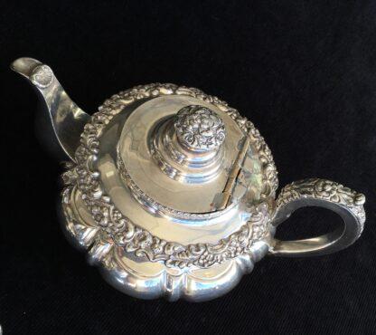 3 piece Old Sheffield Plate tea service, circa 1830-17093
