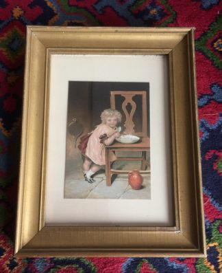 Baxter print of child, -0