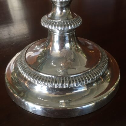 Old Sheffield Plate candelabra , C. 1820 -17743