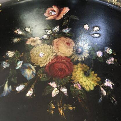 Large Victorian Paper Mache tray, c. 1835-17748