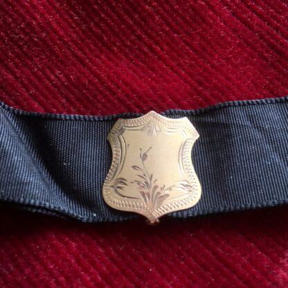 Australian 9ct gold 'Albert' pocket watch band, Willis & Sons, dated 1919 -17897