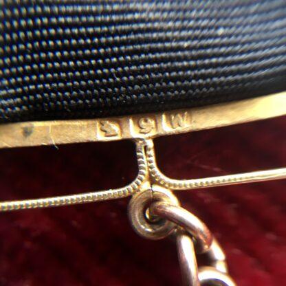 Australian 9ct gold 'Albert' pocket watch band, Willis & Sons, dated 1919 -17898
