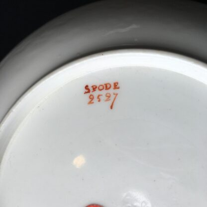 Spode cup & saucer, pattern 2527- flowers, c. 1825-17942