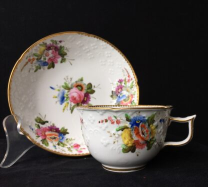 Spode cup & saucer, pattern 2527- flowers, c. 1825-17943