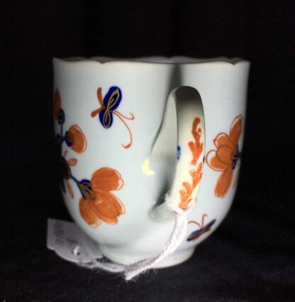 Vauxhall coffee cup, Imari bird & flower pattern, c. 1758-18224