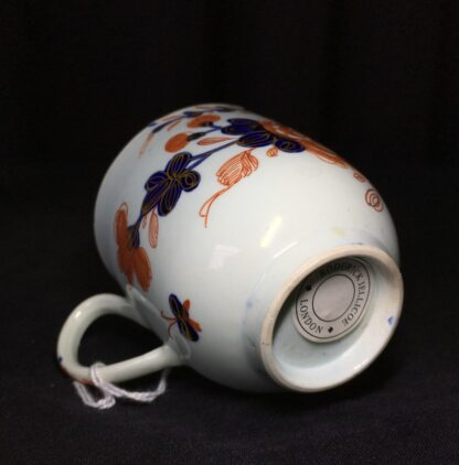 Vauxhall coffee cup, Imari bird & flower pattern, c. 1758-18225