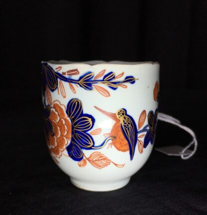 Vauxhall coffee cup, Imari bird & flower pattern, c. 1758-18226