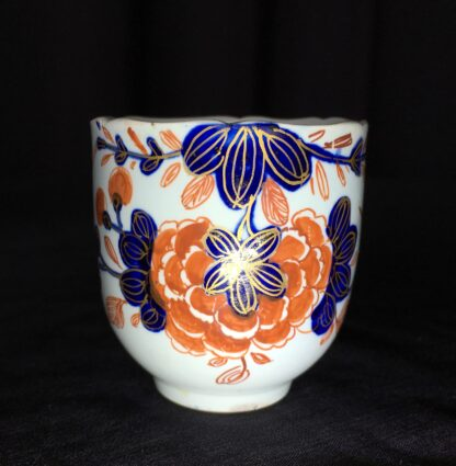 Vauxhall coffee cup, Imari bird & flower pattern, c. 1758-18228