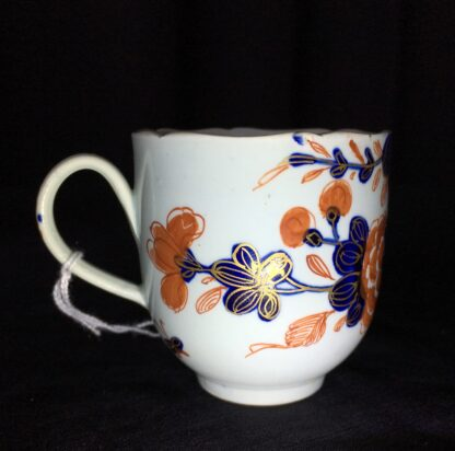 Vauxhall coffee cup, Imari bird & flower pattern, c. 1758-18229