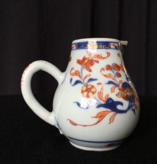 Chinese milk jug, Imari pattern, circa 1750-0
