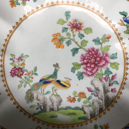 Spode shell shape serving dish, Chinese Export pattern 2118, c.1805-15.-18414