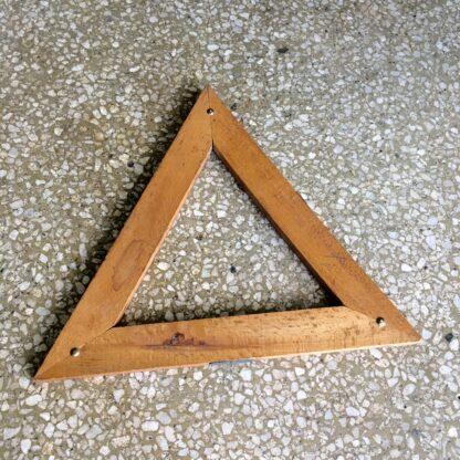 Victorian triangle cribbage board. 19th c.-18725